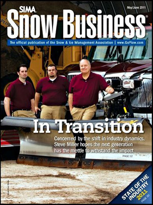 Steve Miller, Inc. in Snow Business Magazine